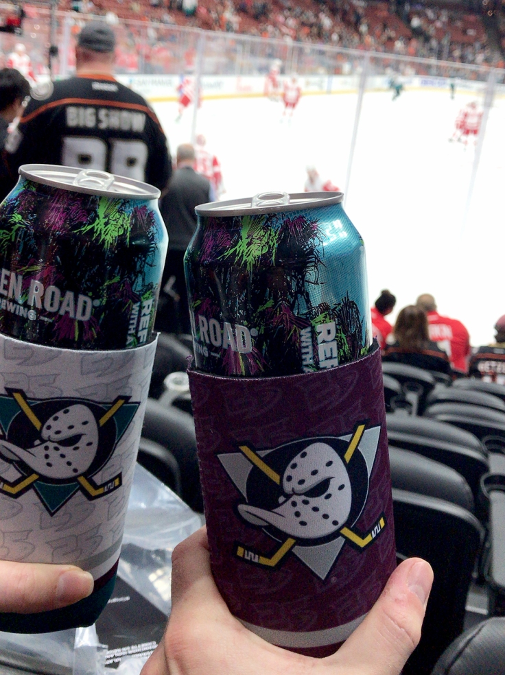 New Mighty Ducks Koozies From The Team Store